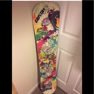GNU B-PRO Snowboard 135 cm Snow Board Boarding